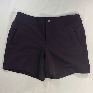 32 Degrees Cool Women's Sports Purple Shorts